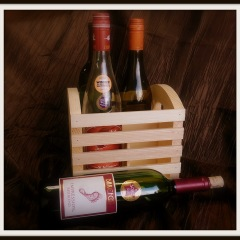 4 Place Wine Crate